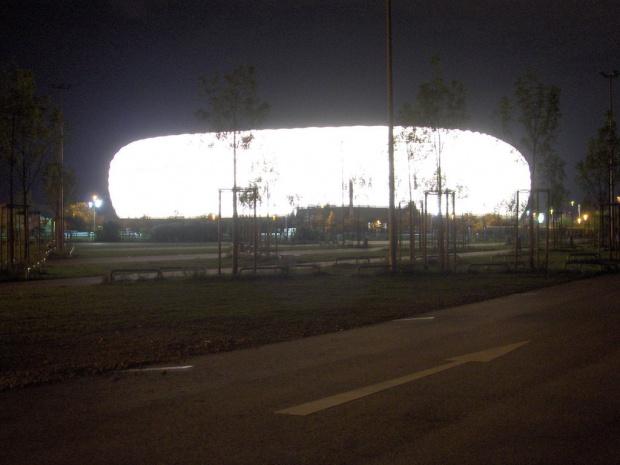 Słynny stadion w Monachium - Alianz Arena #Monachium #Stadion