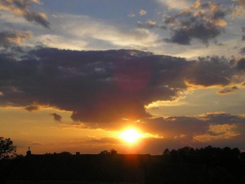 Zachód słońca #Daniel #RakowoPiskie #Mazury