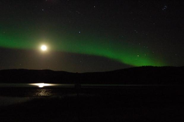 #Alaska #zorza #niebo