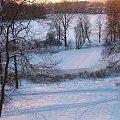 Wiślana łacha w puławskim parku #Puławy #zima #park #łacha