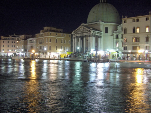 Canale Grande nocą #Wenecja #Włochy